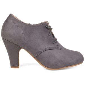 New Journee Collection 'Leona' Lace-up Booties 10